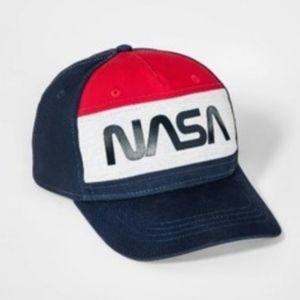 Color block nasa boys baseball hat